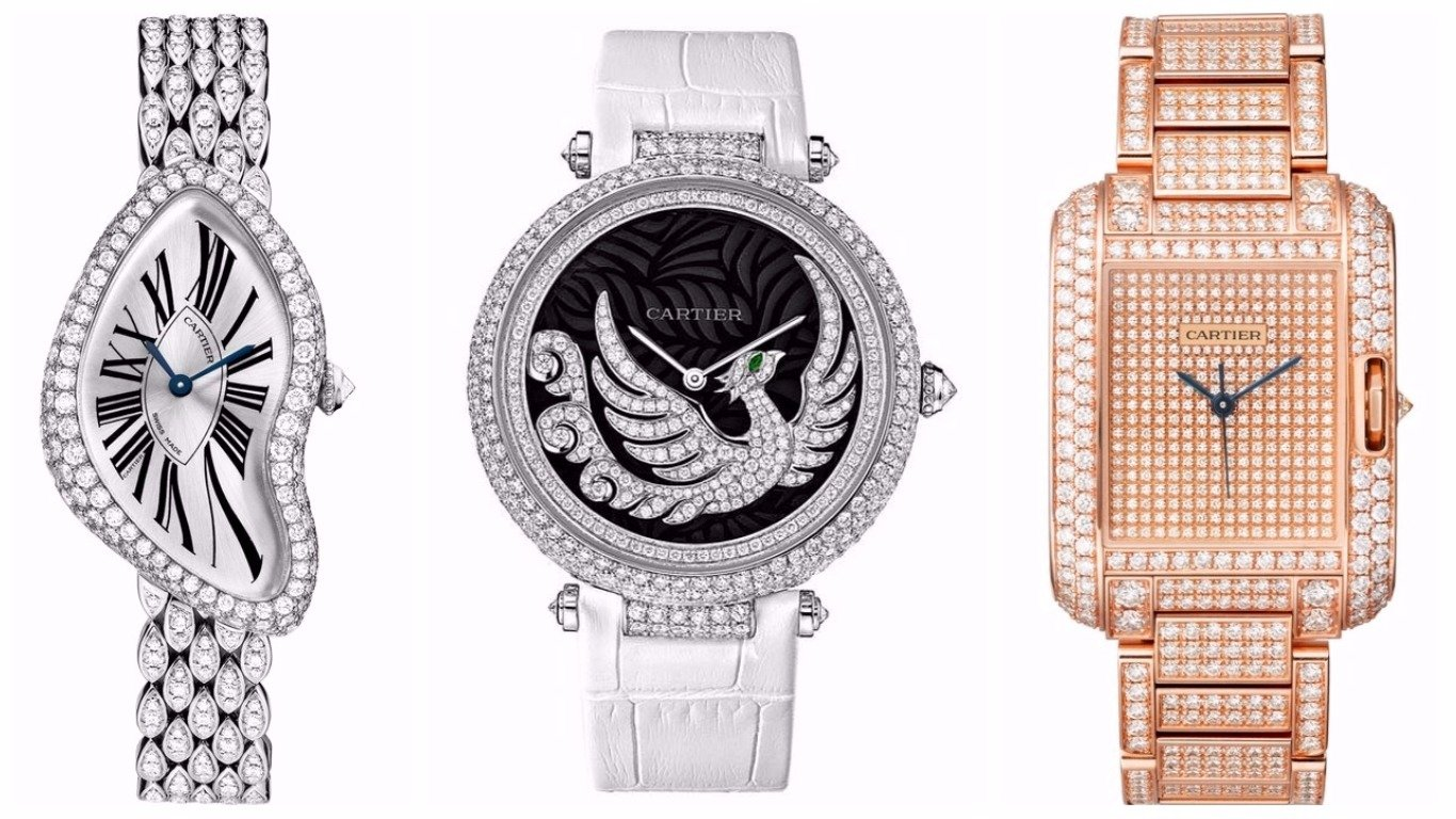 Mother Of Pearl >> The most expensive women's watches in the world (2017)
