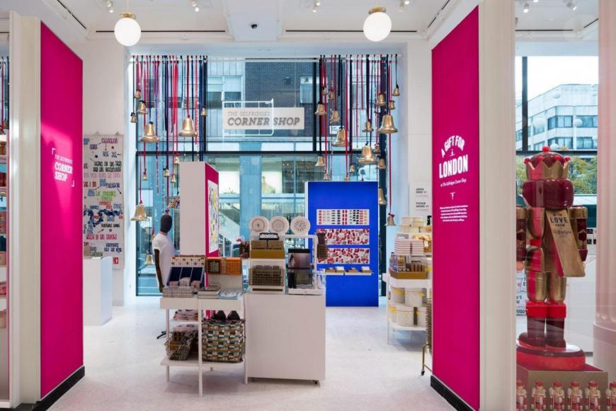 755144ed0c80 Selfridges has opened a corner shop that sells designers items ...