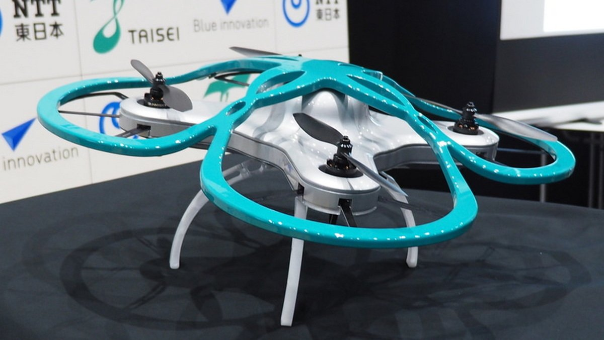 Only in Japan - A drone that will find overworking employees : Luxurylaunches
