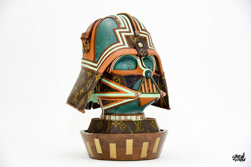 Junk Artist Creates Exclusive Star Wars Merchandise From