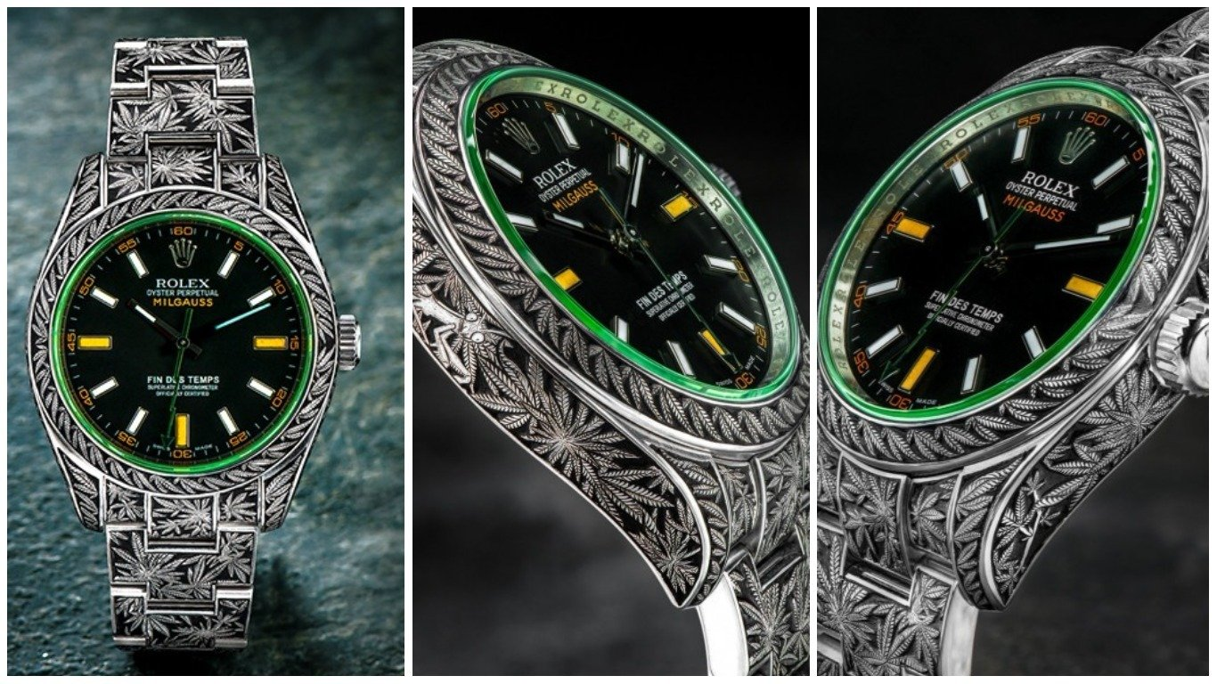 Jewelry Artist Hand Engraves A Rolex To Make The World S