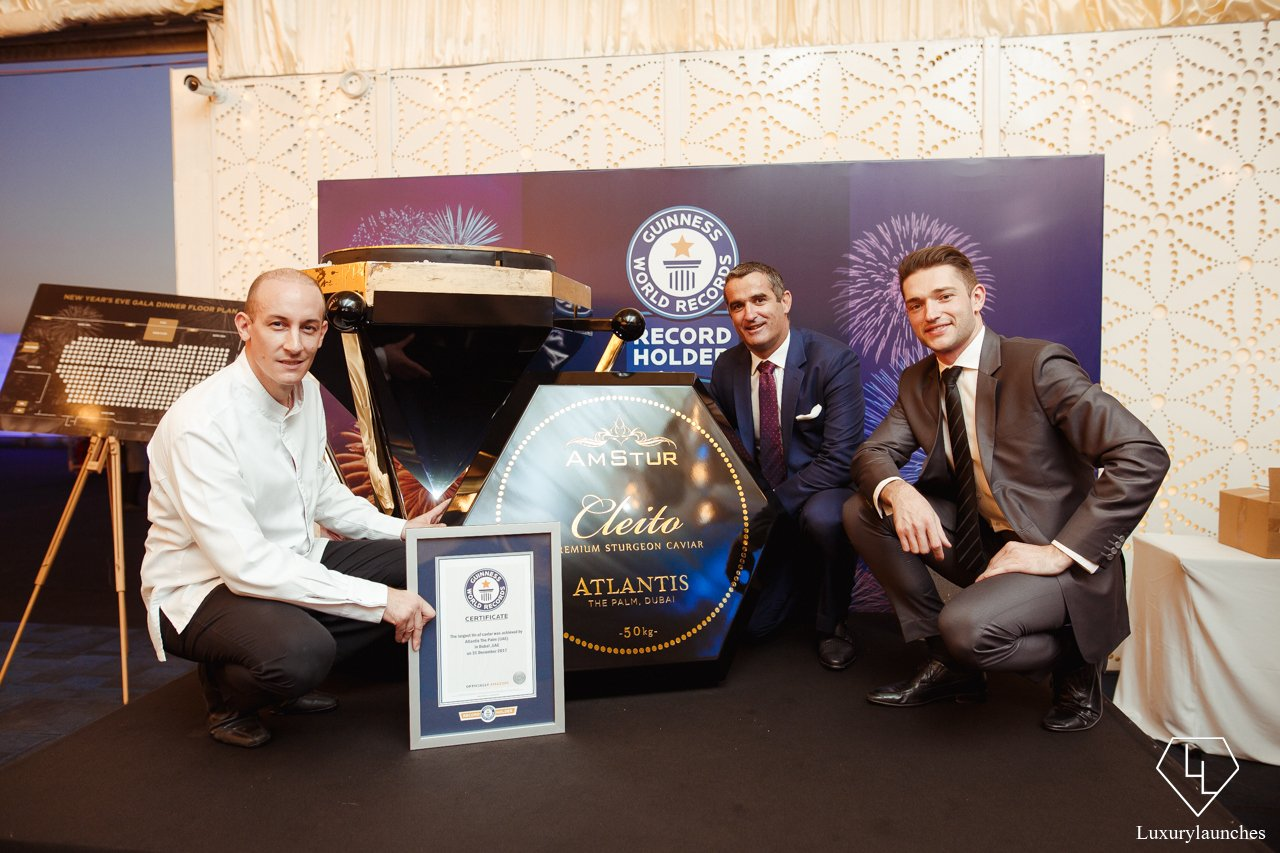 Atlantis The Palm Sets A Guinness Record For The Worlds