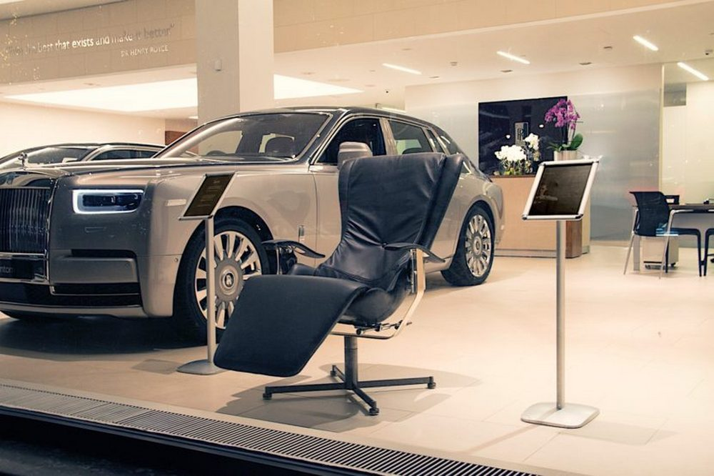 At $51,000 this is the worlds most advanced chair that even neutralizes gravity : Luxurylaunches