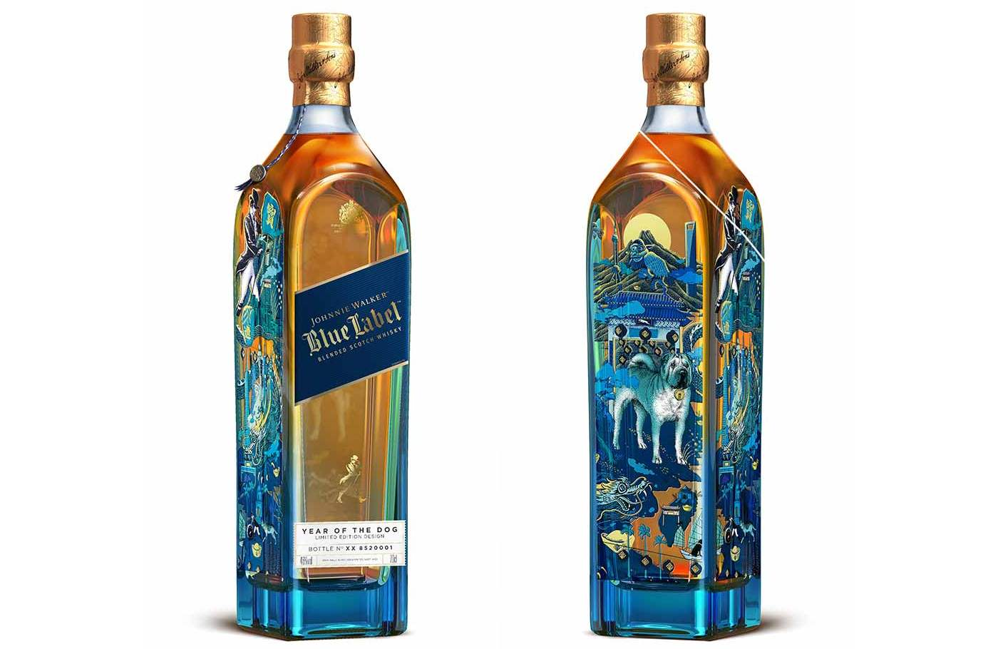 Johnnie Walker Unveils New Limited Edition Blue Label