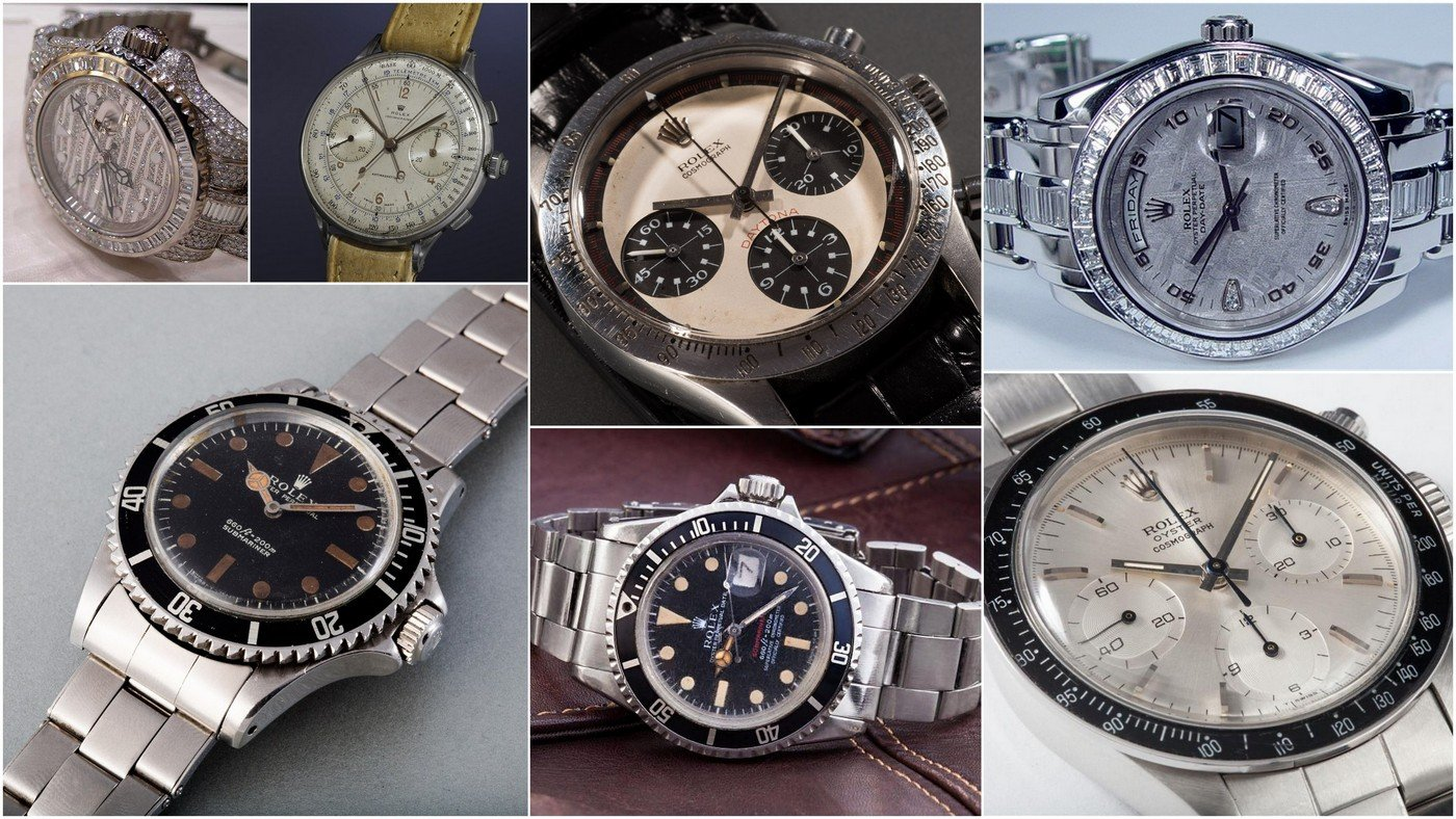 Auction Cars For Sale >> The most expensive Rolex watches ever sold (2018)