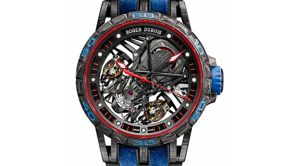 Certified Used Cars >> SIHH 2018: The Roger Dubuis Excalibur Aventador S Blue