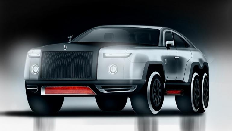 this rolls royce wraith based 6 wheel beast could be the. Black Bedroom Furniture Sets. Home Design Ideas