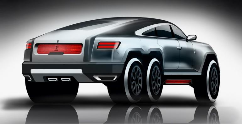 This Rolls Royce Wraith Based 6 Wheel Beast Could Be The