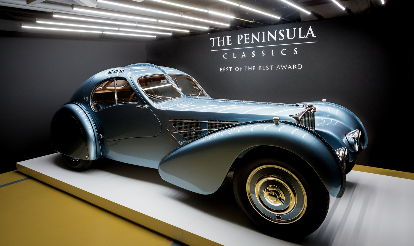 $40M Bugatti Type 57SC Atlantic wins the Peninsula Classic ...