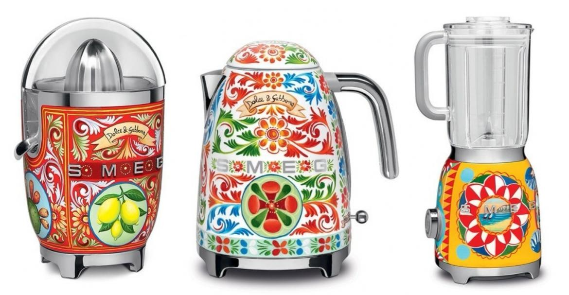 Dolce And Gabanna Collaborates With Smeg Once Again For