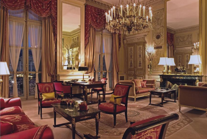 Suite impériale @Archives Ritz