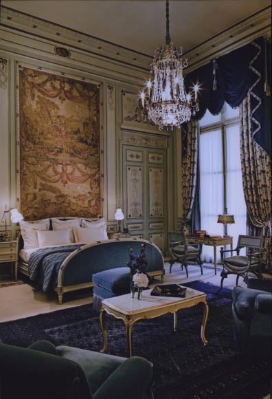 Vue de la suite Windsor au Ritz dans les années 1980 @Archives Ritz