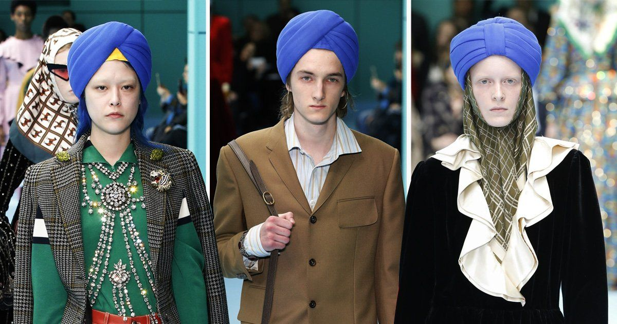 Gucci's MFW misstep: sending Sikh turbans down the runway, with no Sikh models in sight! -