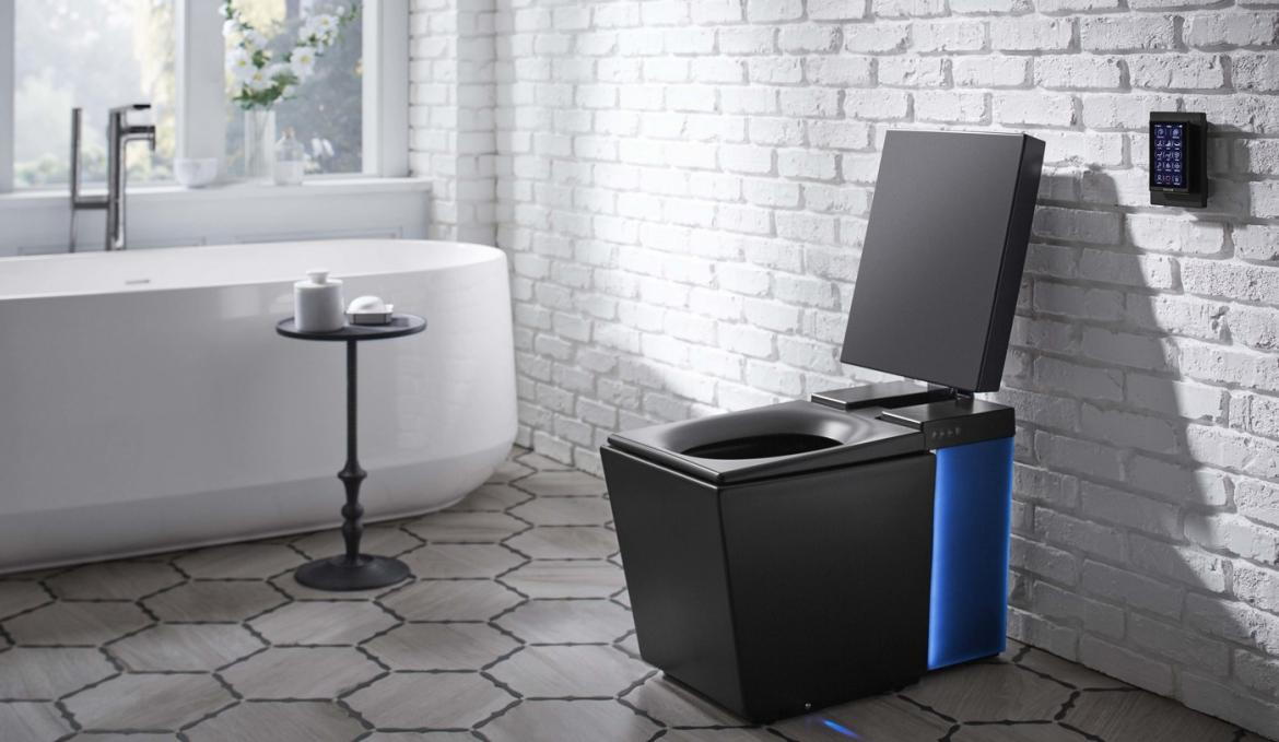 This $6,000 smart toilet will play you music, flush on command and ...