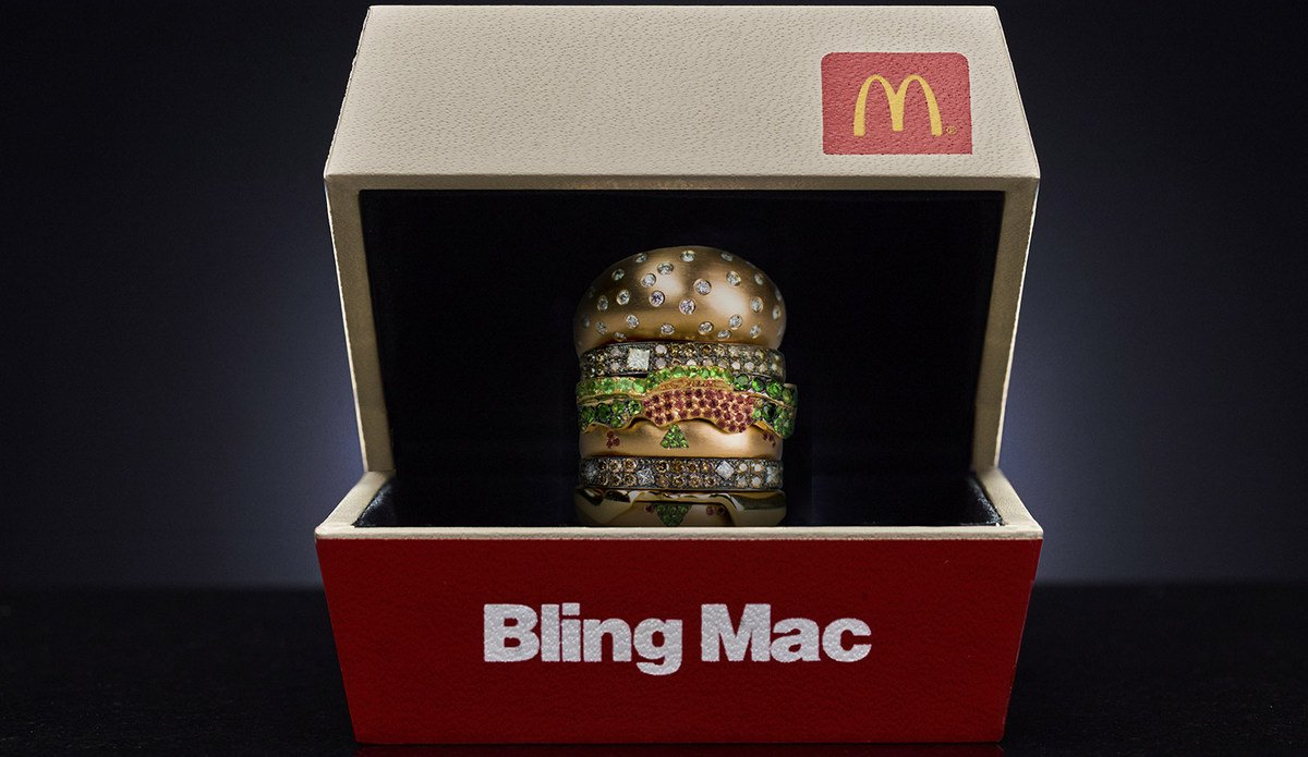 Cars Com Used Cars >> McDonalds USA is giving away a diamond-studded Big Mac ...