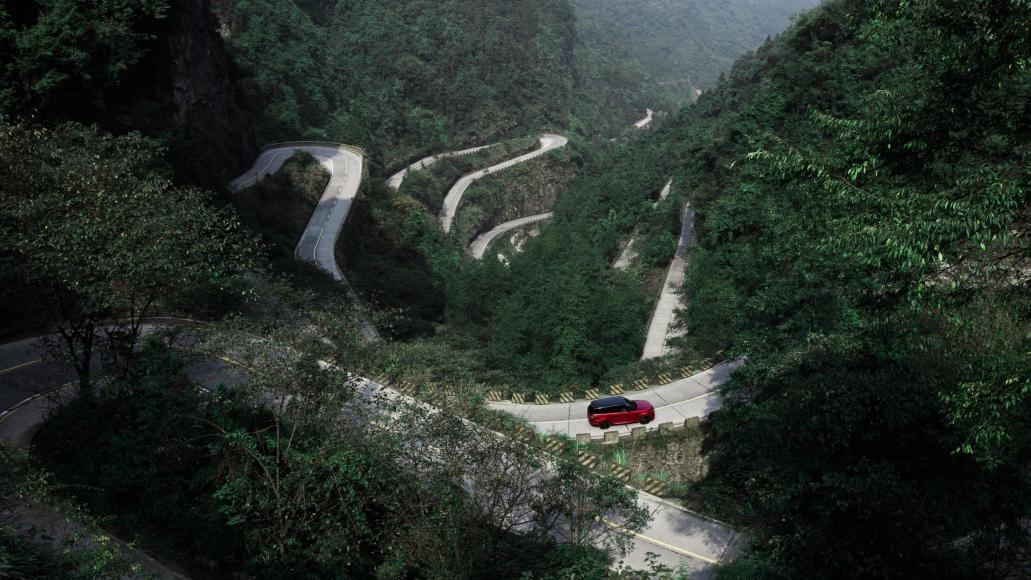 Watch A Range Rover Sport Phev Climb 999 Steps To China S