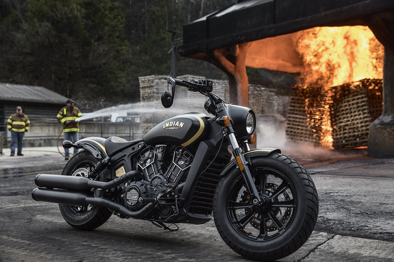 Jack Daniel's collaborates with Indian Motorcycles to create a limited edition Scout Bobber -