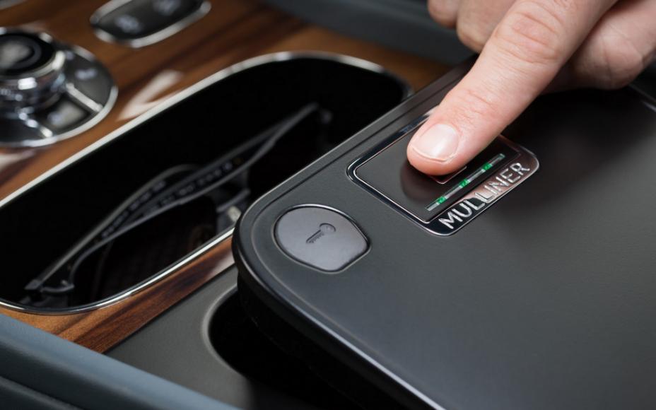 Bentley biometric storage system (3)