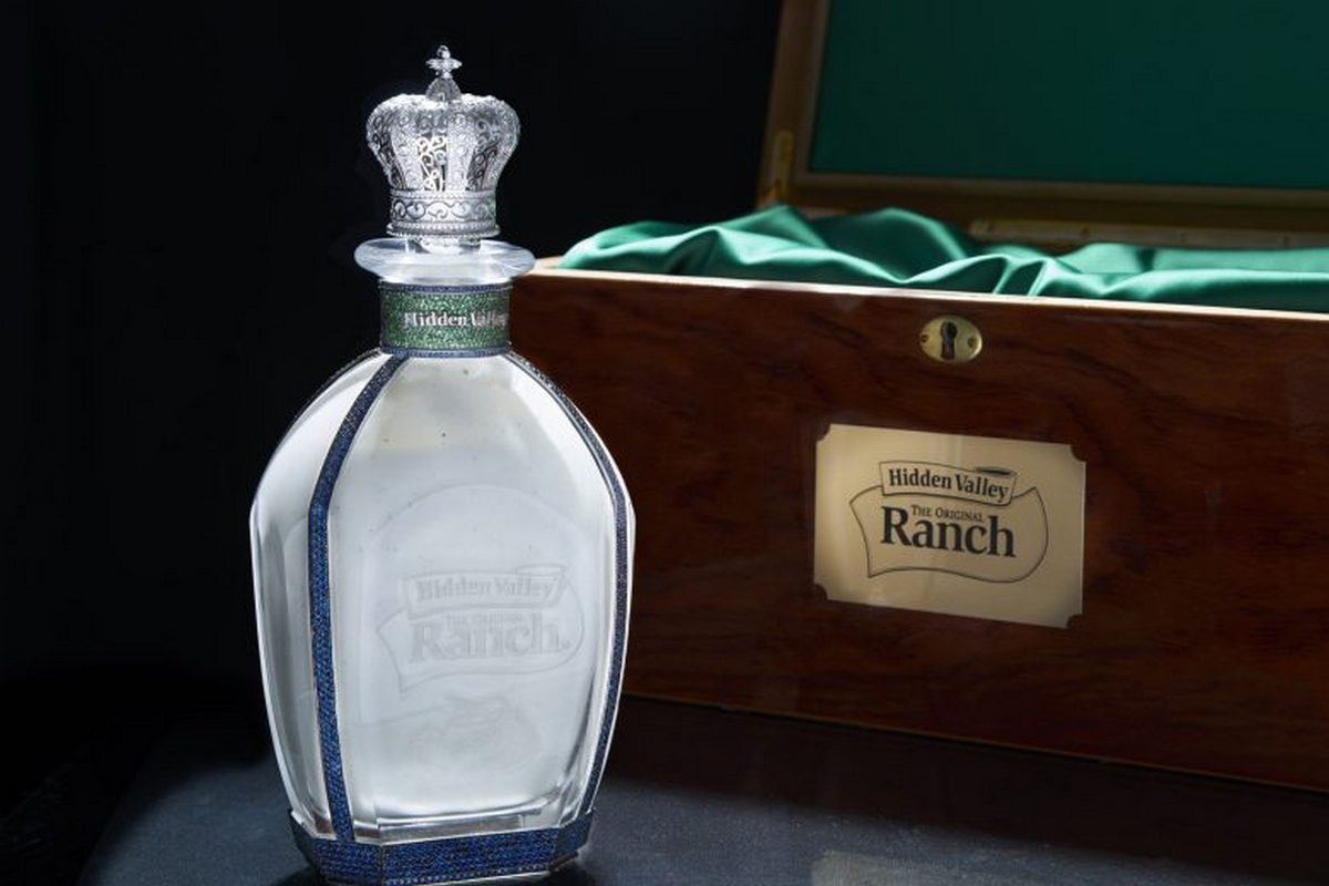 Check out this ludicrously priced $35,000 Ranch decanter -