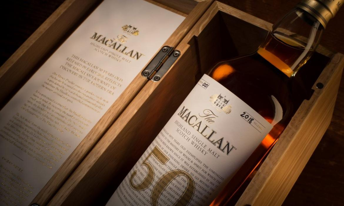 While These Ultra Rare 60 Year Old Whiskies From The Macallan Are Expected To Cause A Splash At Auction 50 Single Malt Is Set Hit Shelved
