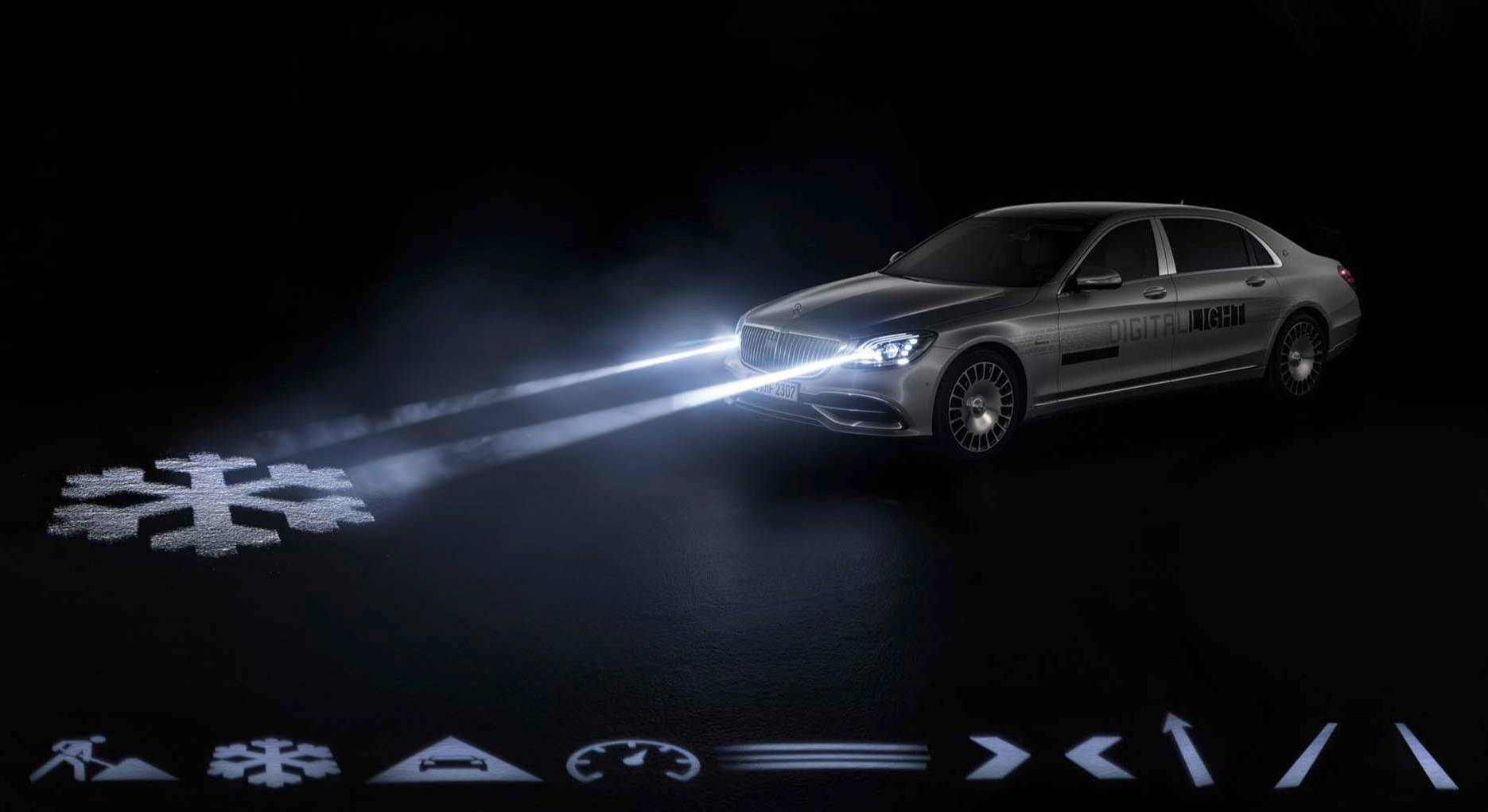 Most Expensive Mercedes Benz Model >> Mercedes Maybach will come with 2 megapixel smart headlights that can project warning symbols on ...