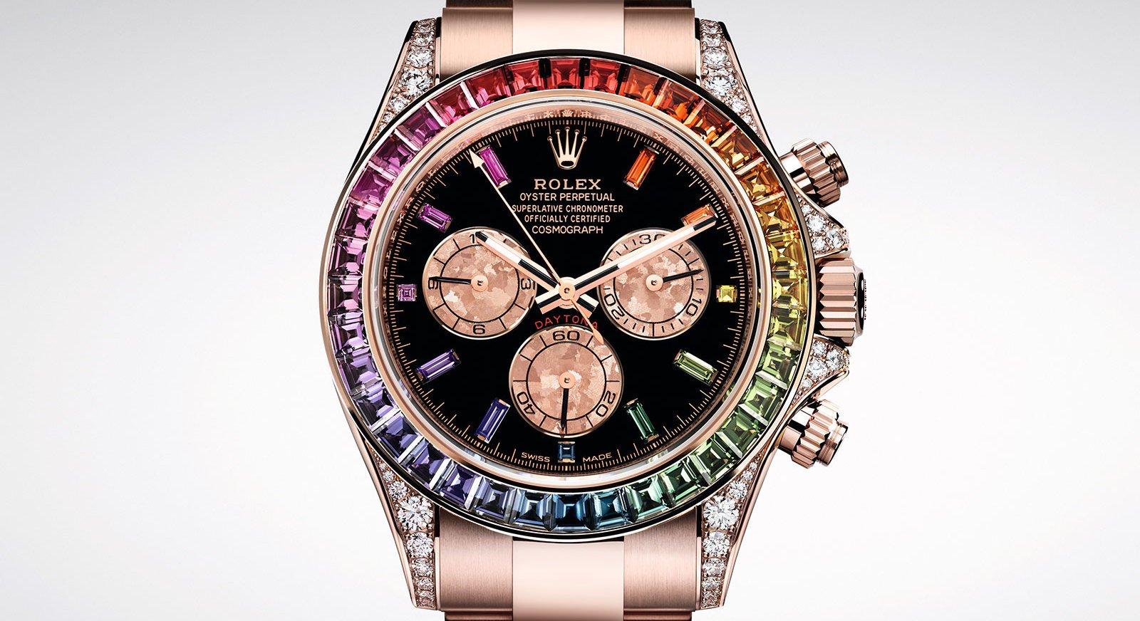 Rolex Has Brought Back The Cosmograph Daytona Rainbow
