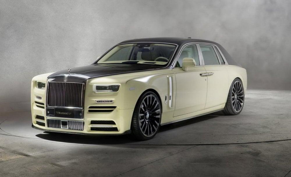 Mansory Phantom Bushukan Edition Is A Customized Rolls