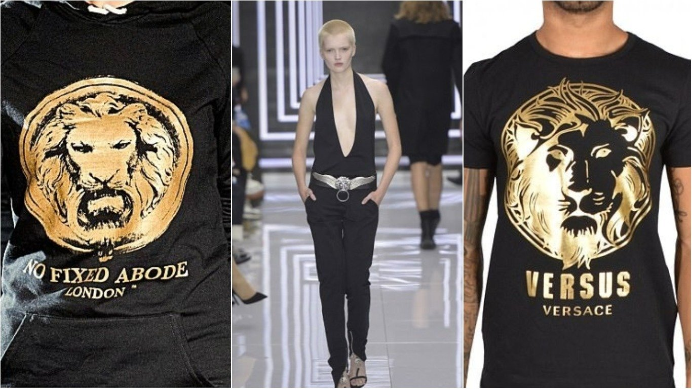 A British Brand Is Suing Versace For Ripping Off Its Logo
