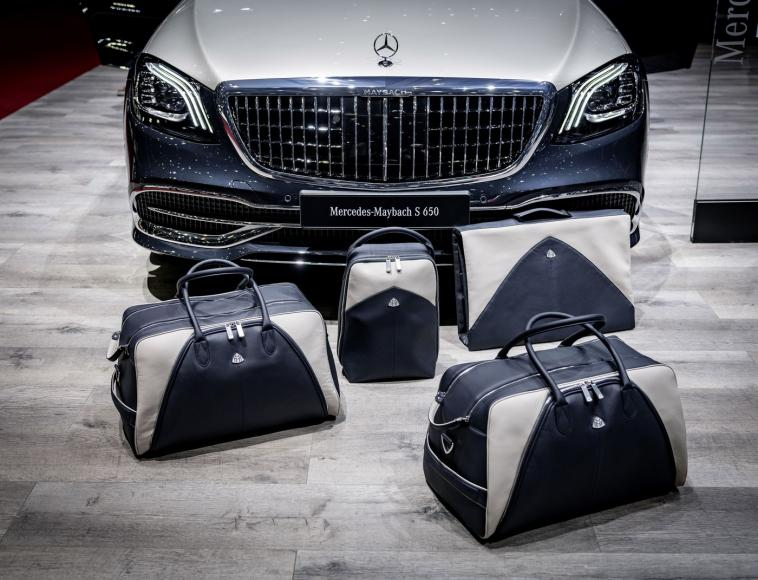 Mercedes Introduces Luggage To Match Their Mercedes