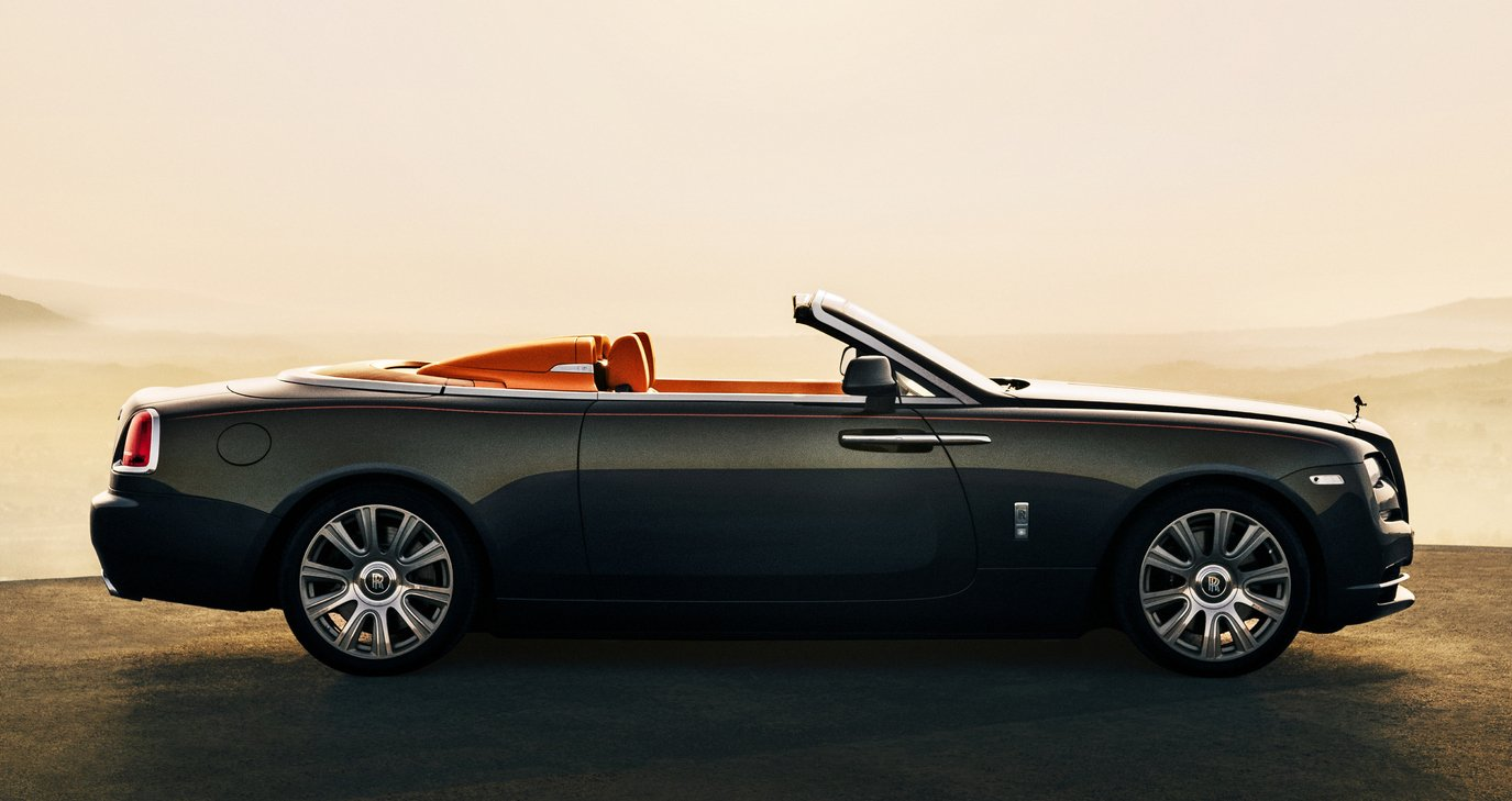 Rolls Royce Updates The Dawn With Aero Cowling To Turn It