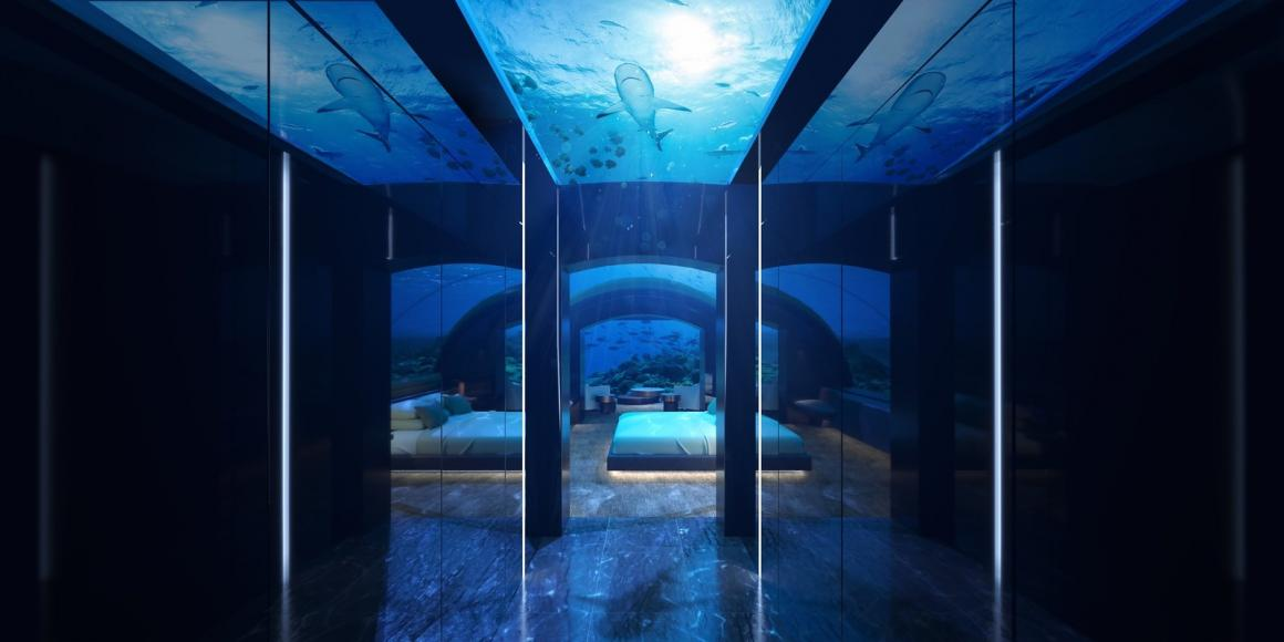 Risultati immagini per From sunset views to underwater views, the world's first undersea residence promises oceanside luxury like you've never seen foto