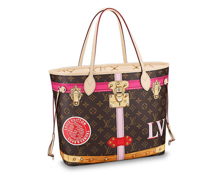 Classic Handbags With Color Stickers We Are Loving Louis