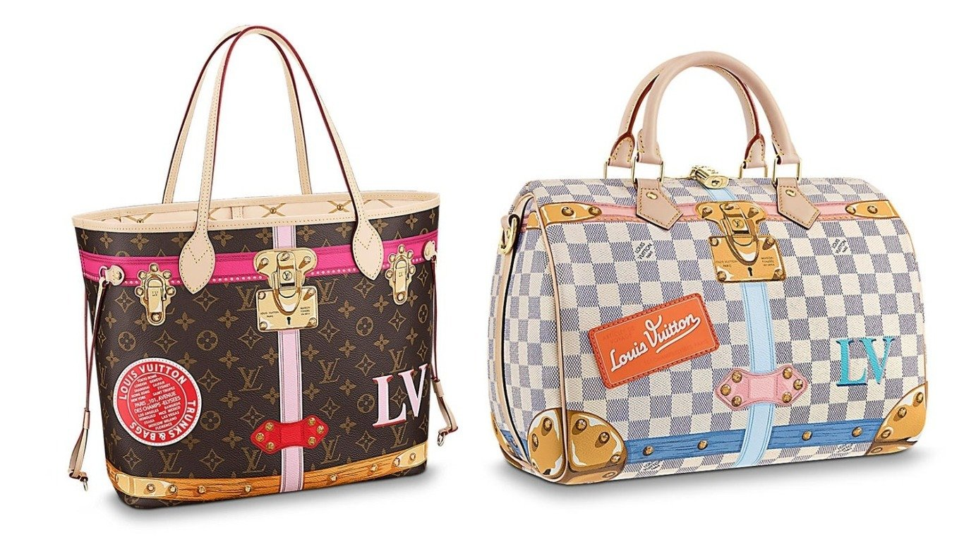 Classic handbags with color stickers - We are loving Louis Vuitton s new  summer capsule collection - 44244c7d71c6a