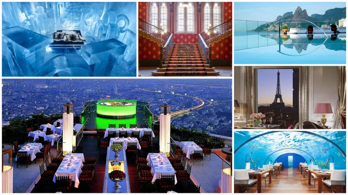 According to Hotels.com, these are the 10 most Instagrammable hotels in the world -