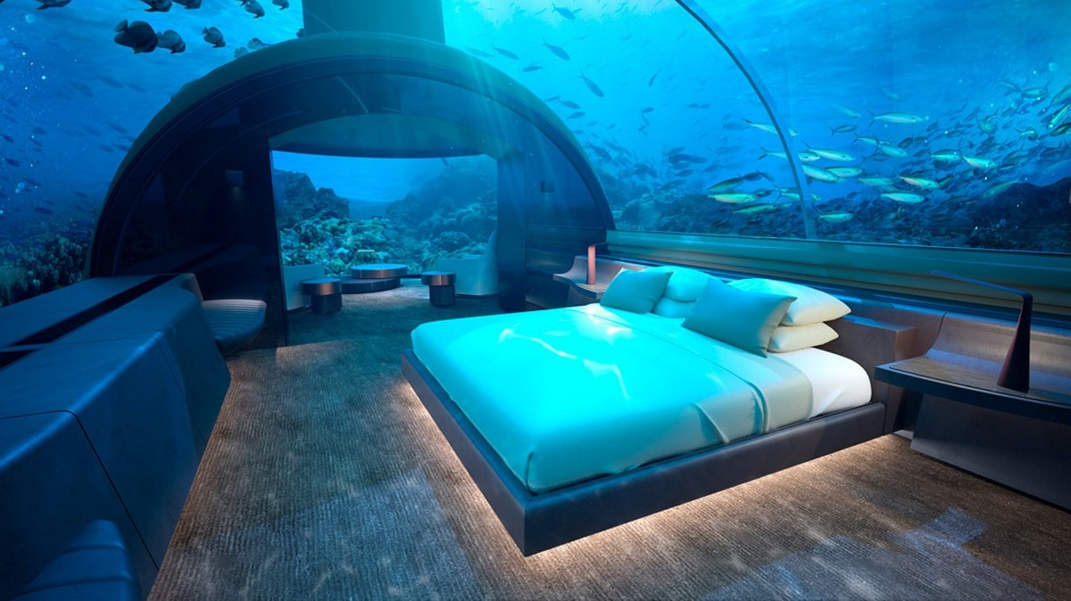From sunset views to underwater views, the world's first undersea residence promises oceanside luxury like you've never seen : Luxurylaunches