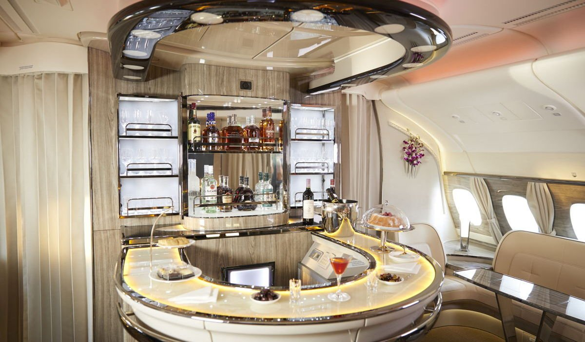 Emirates upgrades its spirit's menu to include the $3000 Hennessy Paradis Imperial and many more