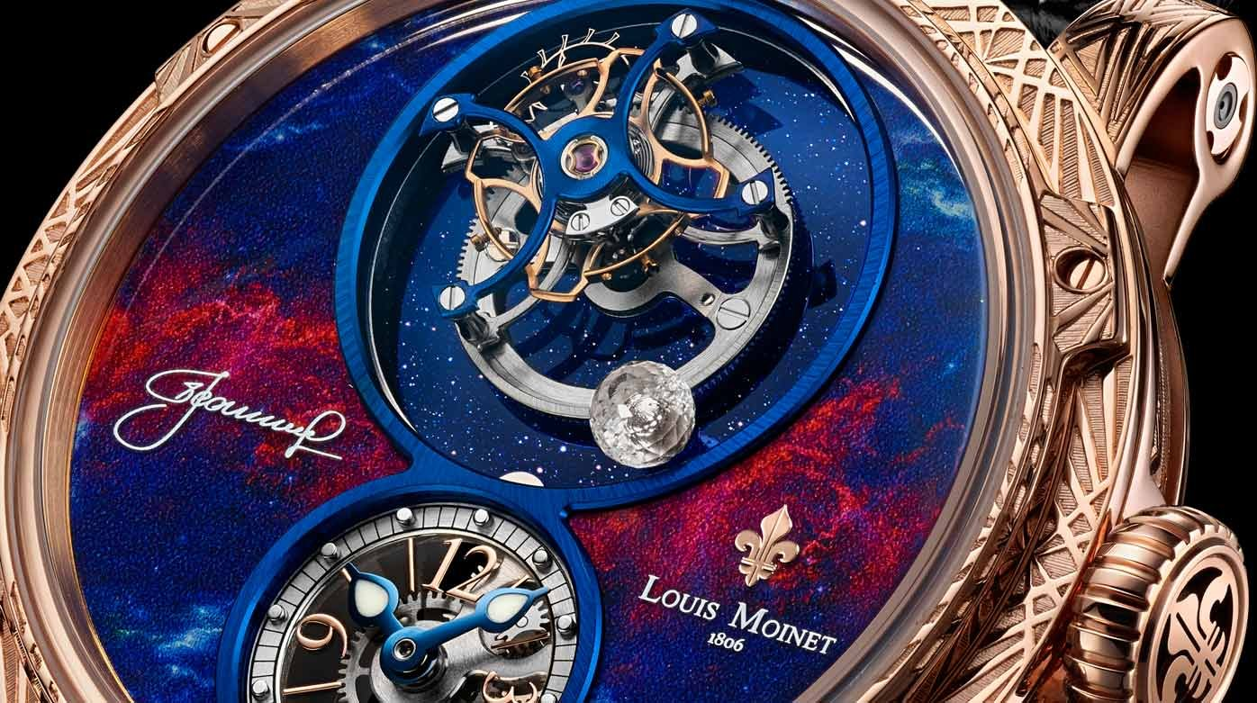 The SpaceWalker from Louis Moinet offers a beautiful tribute to Alexey Leonov's first ever spacewalk