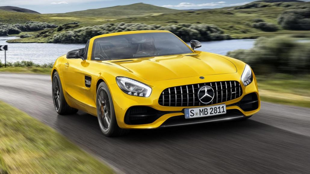 2019 Mercedes-AMG GT S Roadster (1)