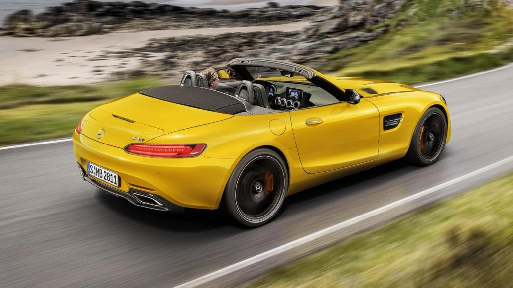 2019 Mercedes-AMG GT S Roadster (2)