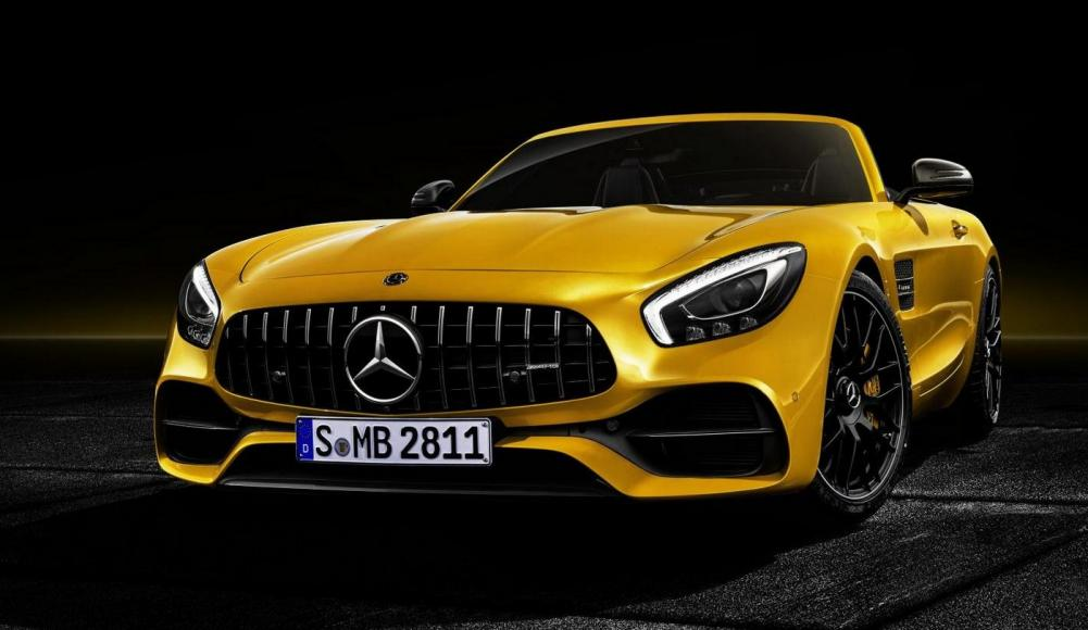 2019 Mercedes-AMG GT S Roadster (3)