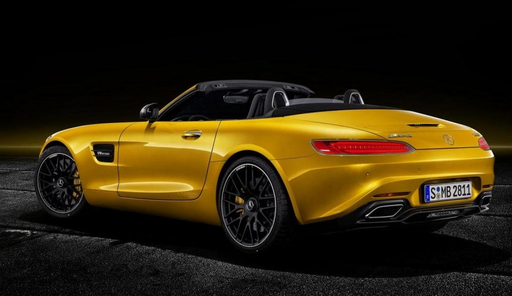 2019 Mercedes-AMG GT S Roadster (4)