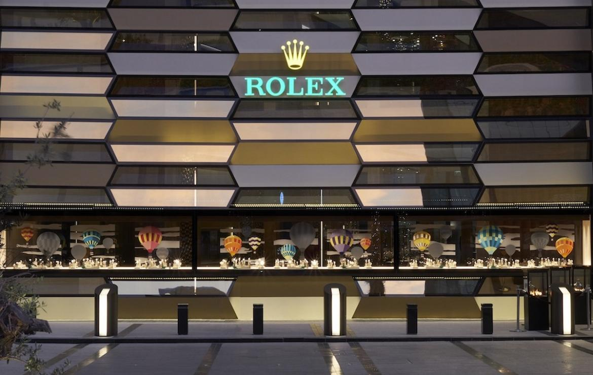 Take A Look Inside The Worlds Largest Rolex Store And