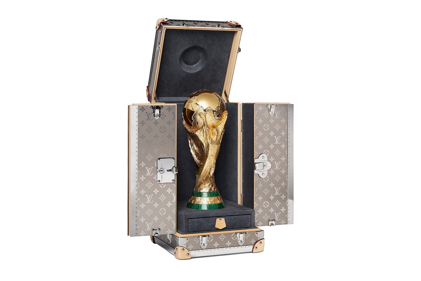 Louis Vuitton's Official 2018 FIFA World Cup Trophy Case is sure to excite every football fan -