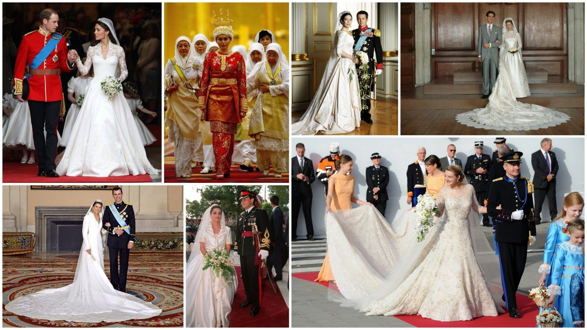 In honor of the royal wedding, we revisit the 7 most expensive royal wedding dresses of all time -