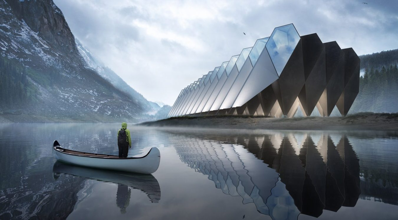 This hotel of the future looks like something straight out of Star Wars -