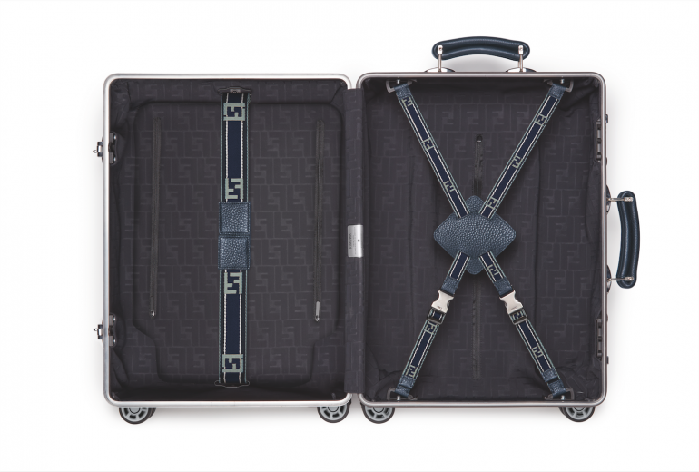 Rimowa X Fendi Aluminum Suitcases Are Now Available In Two