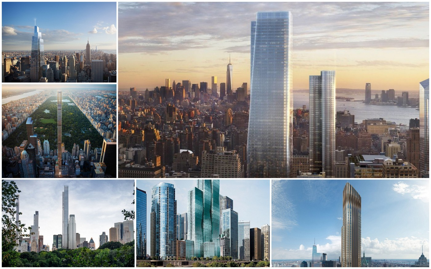 Tall and Stunning - Take a look at these 6 under construction skyscrapers that will change the skyline of New York forever : Luxurylaunches
