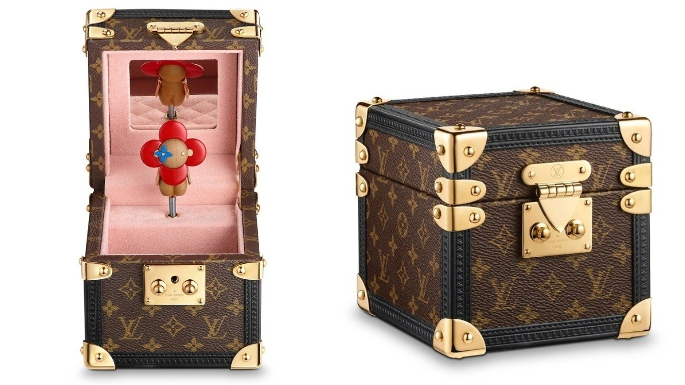 abfbef187045 Louis Vuitton s adorable trunk-like music box is the ultimate  gift-for-no-reason