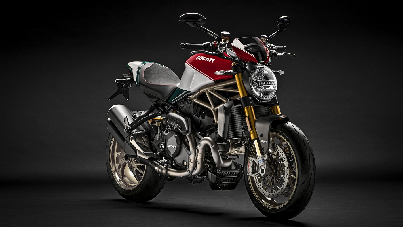 Ducati celebrates the 25th anniversary of the Monster with a special edition