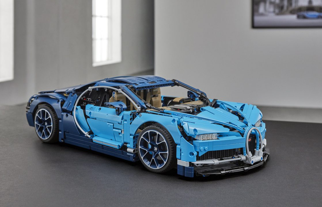 This incredibly detailed Bugatti Chiron Lego set can be yours for just $350 : Luxurylaunches